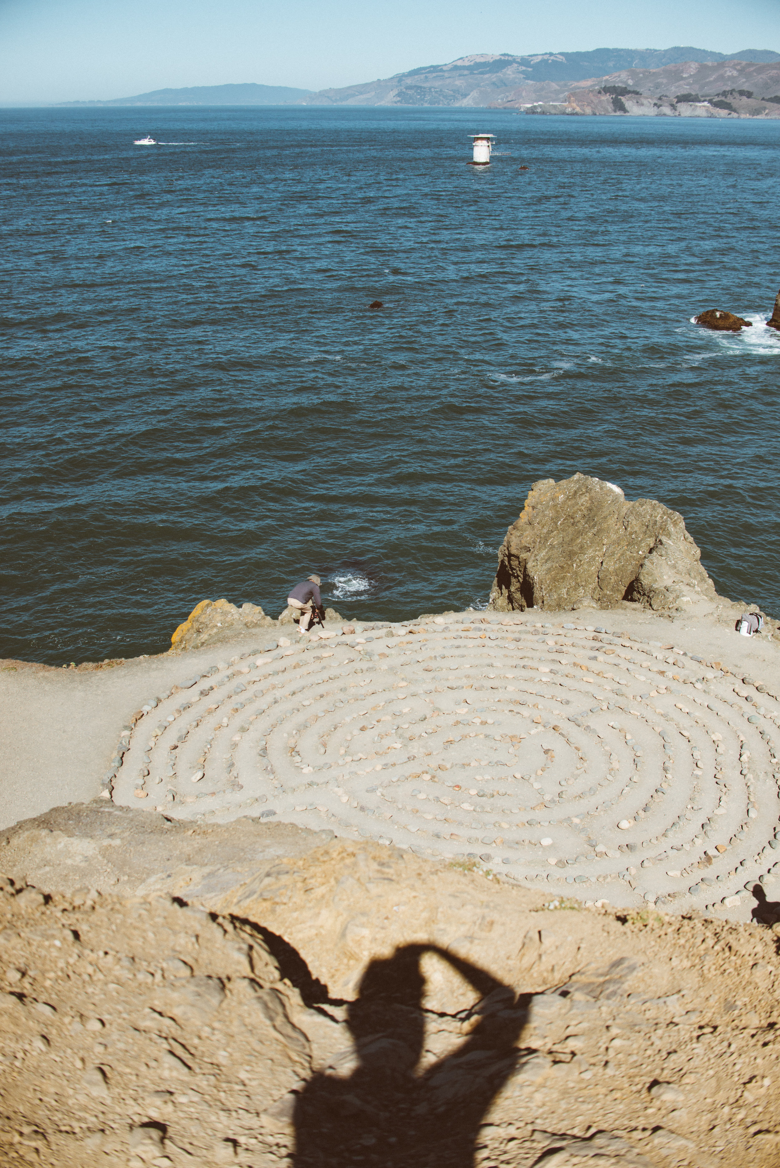 I finally got to see the Lands End Labyrinth