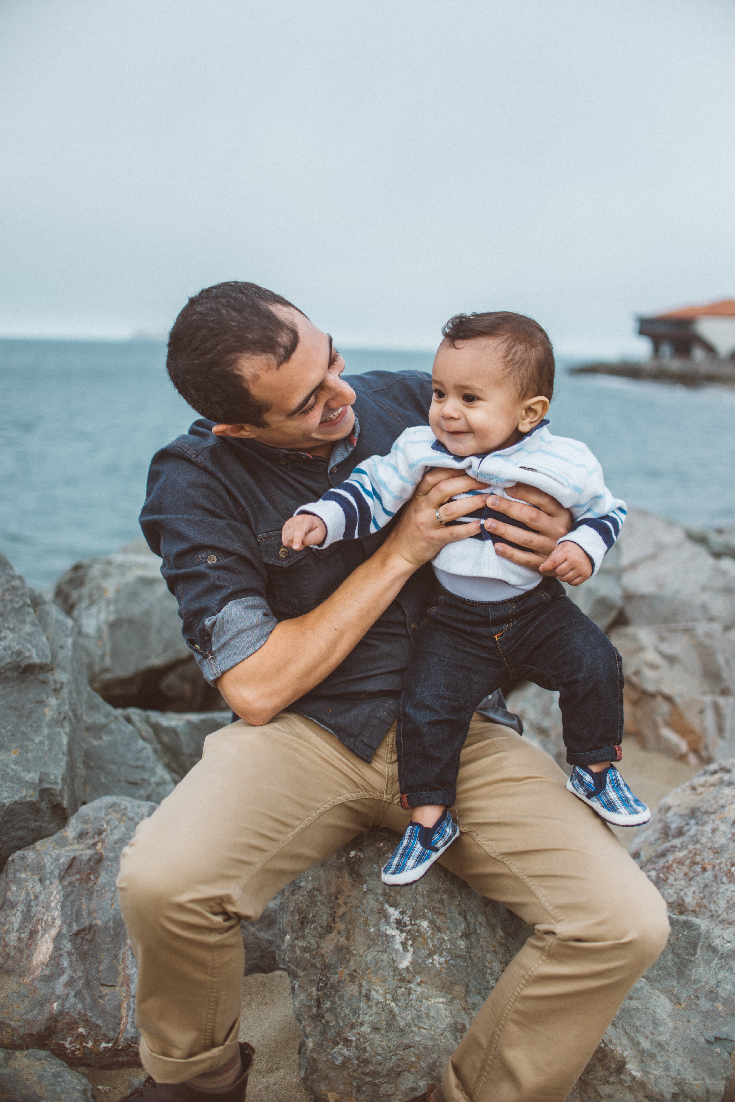 Family Session at Crissy Field East Beach by LUMA Photography