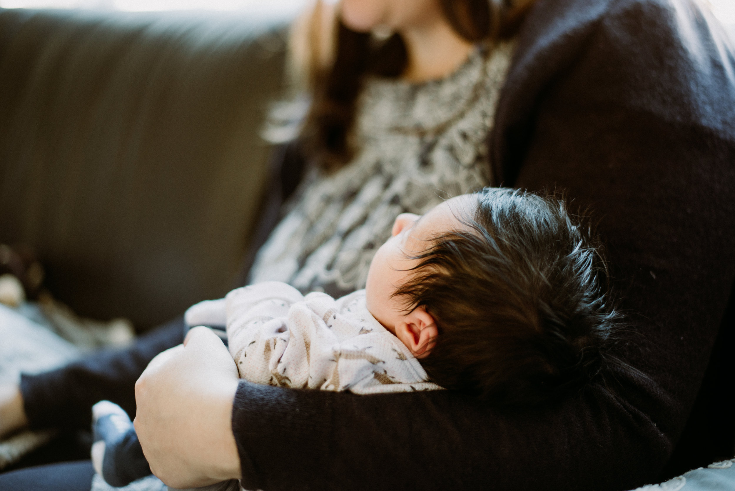 San Francisco Lifestyle Newborn Photographer