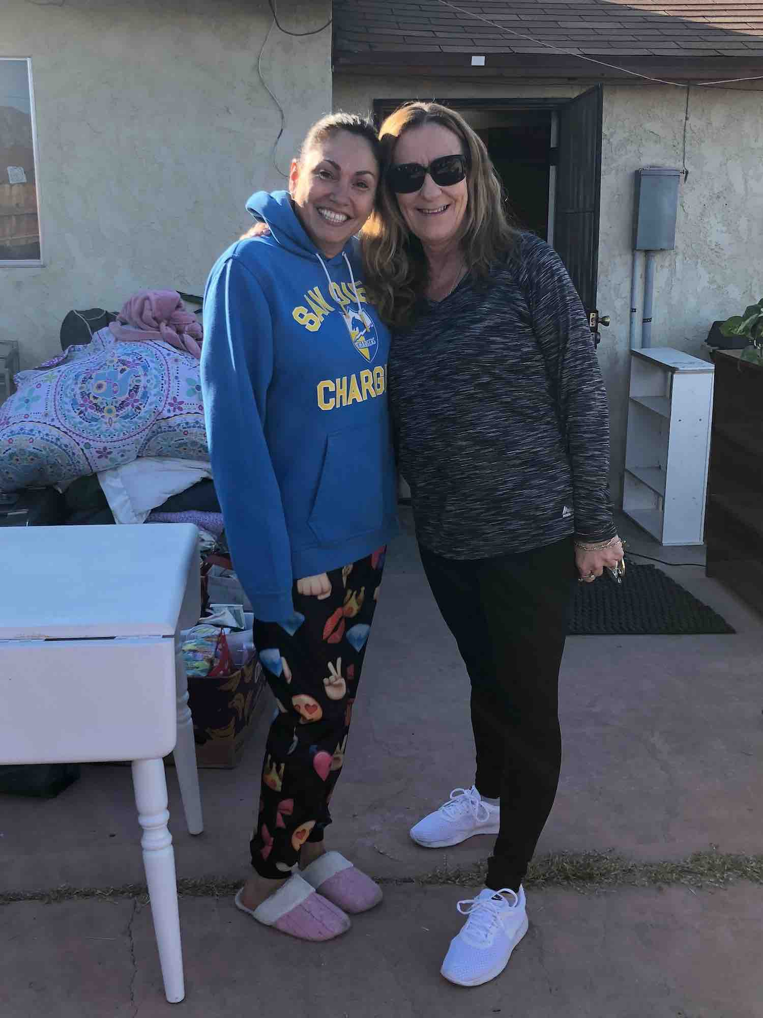 Cynthia was so excited when I found my own place. I am so grateful to the Steps 4 Life Program. Thank you!!