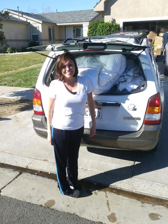Steps 4 Life helped me move into my house with donated items for me and my children to begin my our new lives.