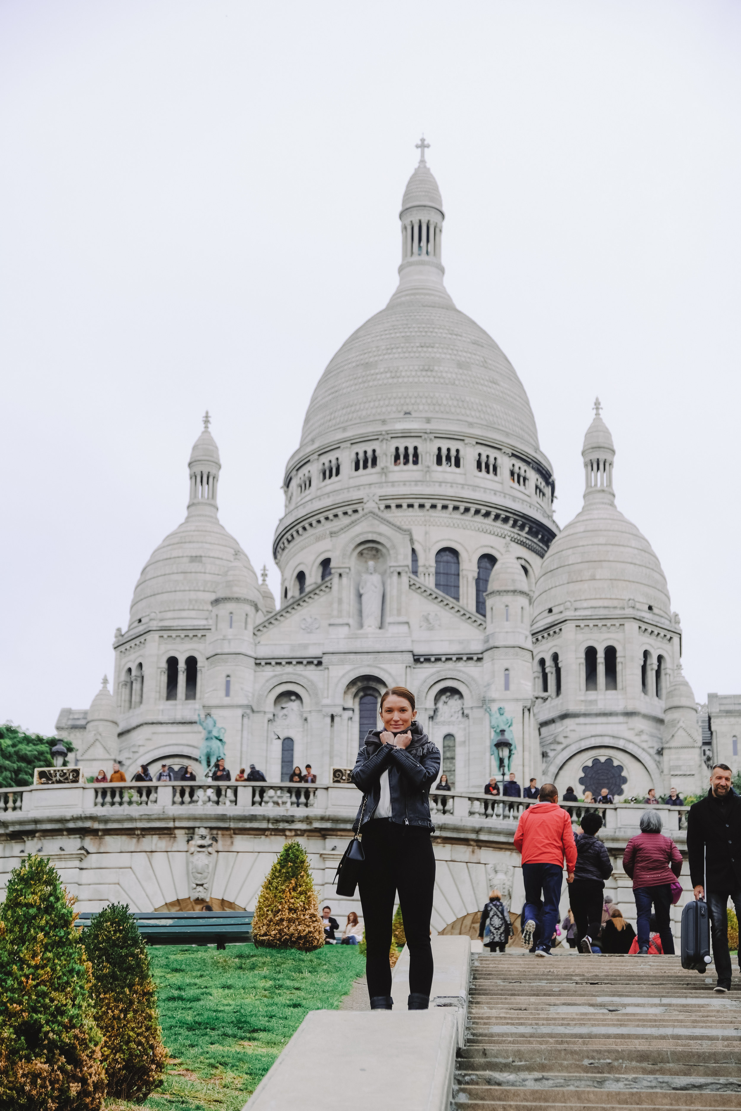 First tourist stop of the day was the Sacre Coeur