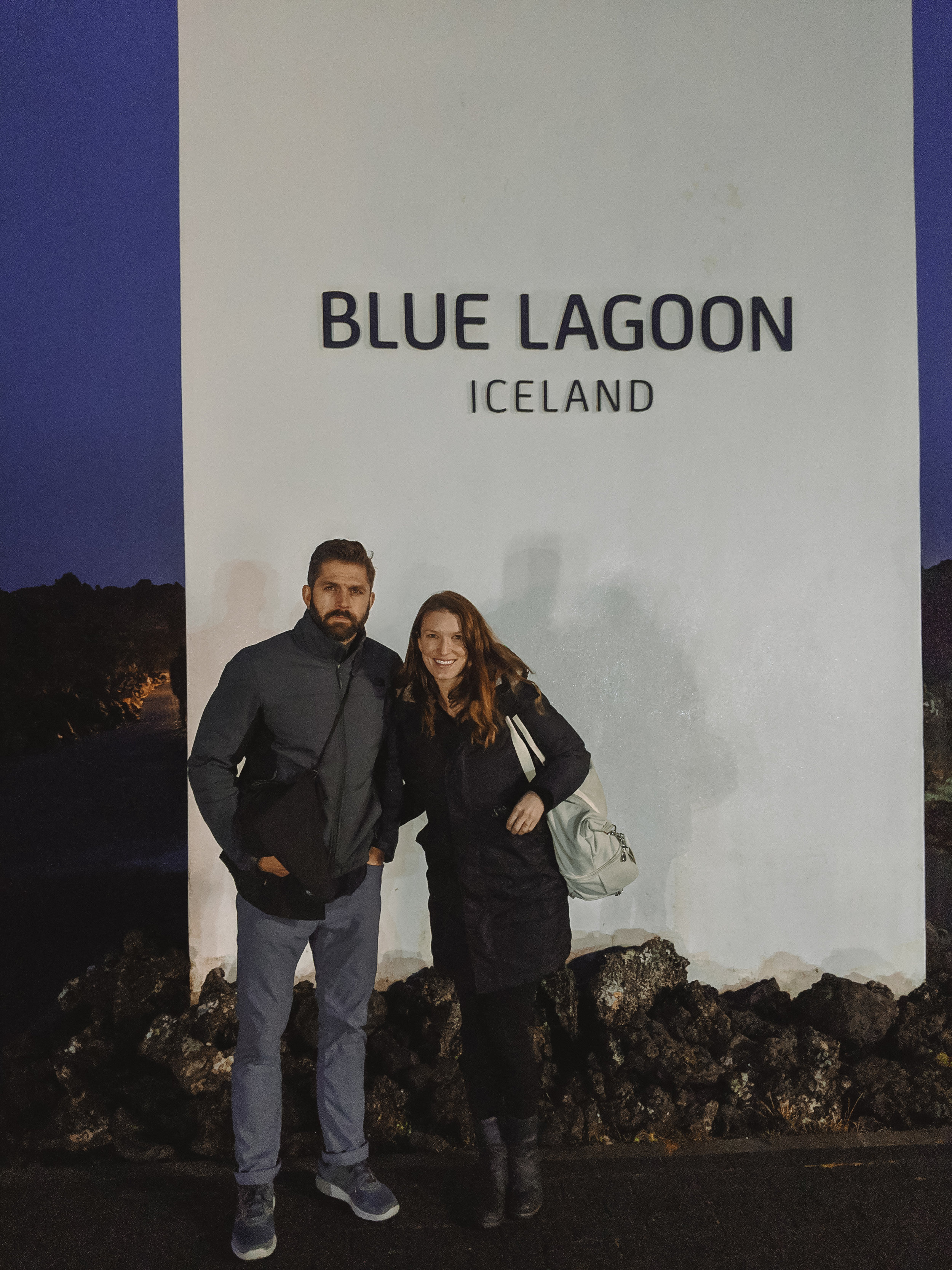 The first thing I wanted to do was go to the Blue Lagoon. I had heard that it gets really crowded, but that if you're there first thing in the morning it's not too bad. We were there almost a half hour before they opened at 8AM, which was great because we had the whole place basically to ourselves for the first 20 minutes or so. I would have loved to stay longer but we had places to go!