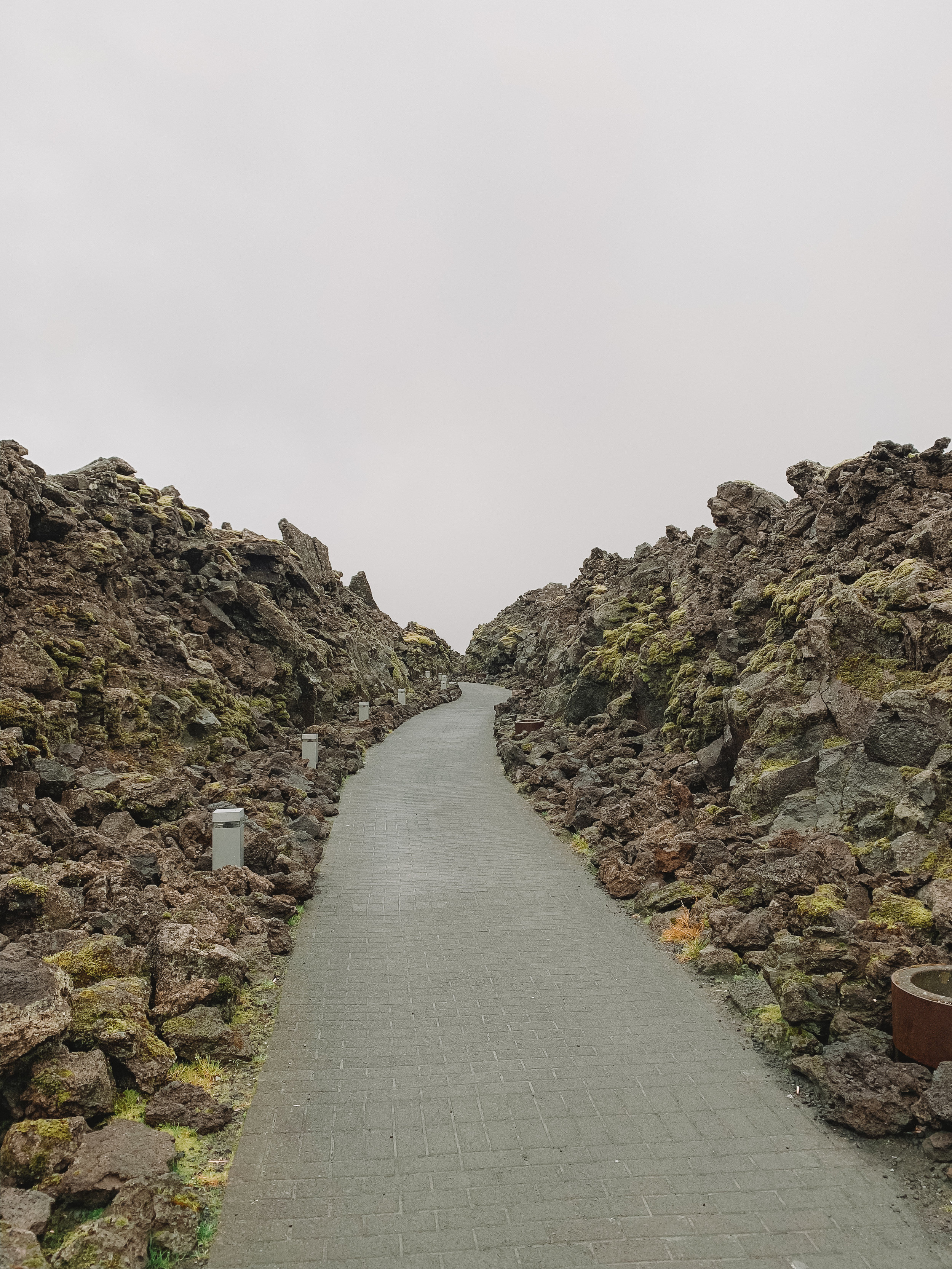 The path leaving the lagoon was so pretty it looked like something out of Game of Thrones.
