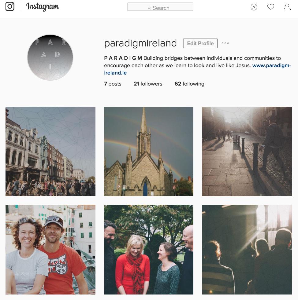 Paradigm Instagram