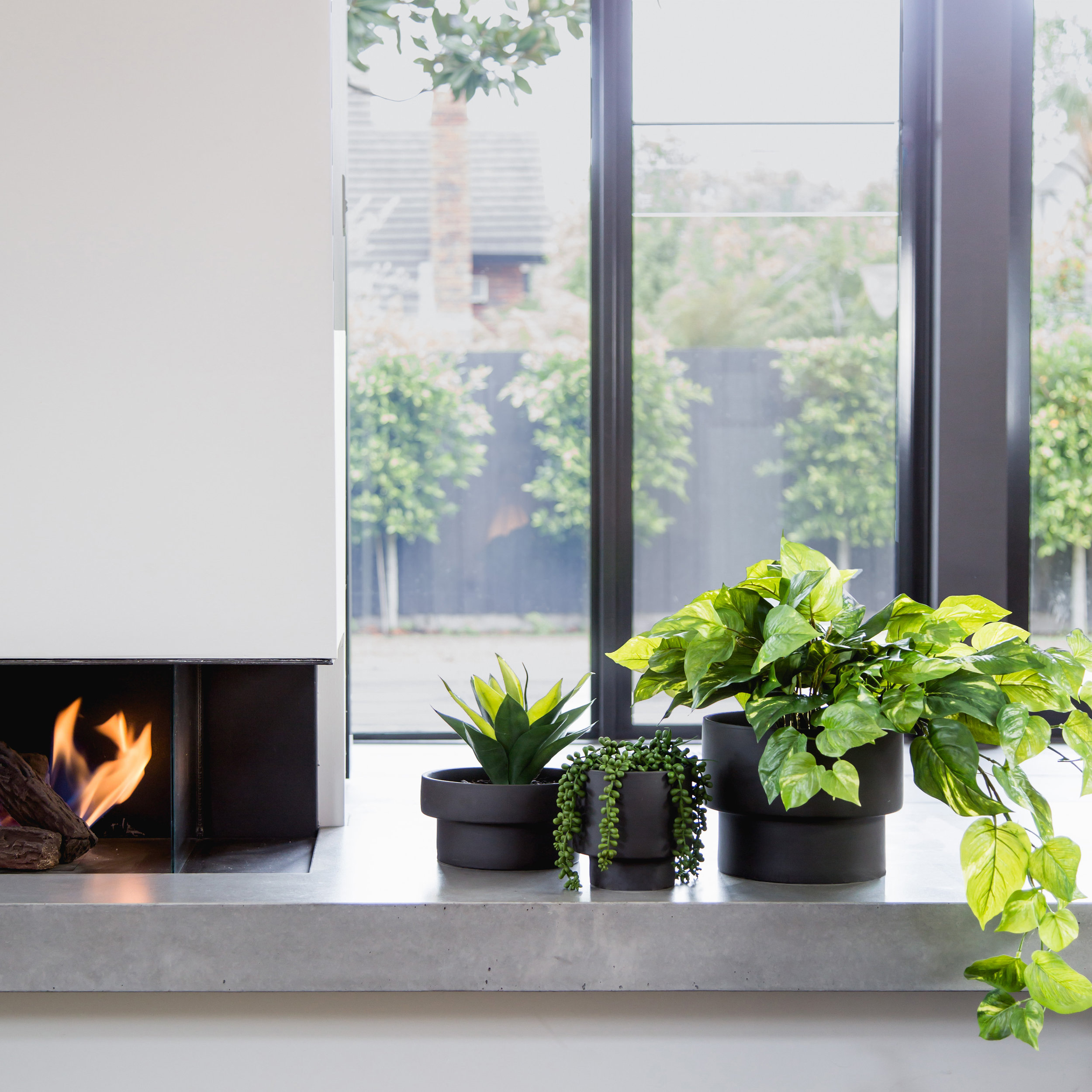Botanical Layering - We are all about making plants a design feature in & around the home. To create a botanical statement, layering is the way-to-go. We deliberately select vessels from the same series in varying sizes & colours, allowing them to work beautifully together as multiples in a cluster.