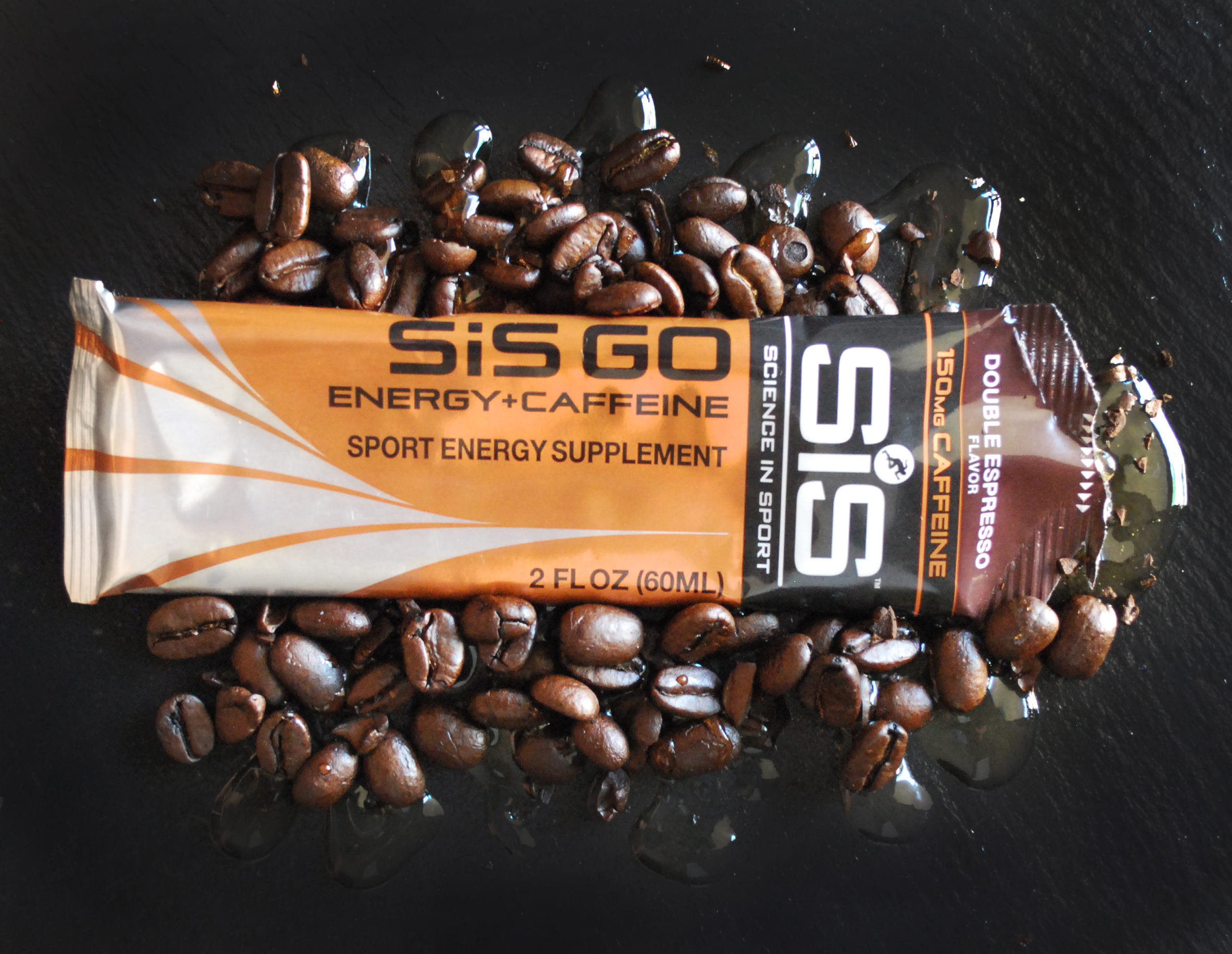 Fun with fuel. Double Espresso + Caffeine by Science in Sport. © Photo and styling by Andrea Heser