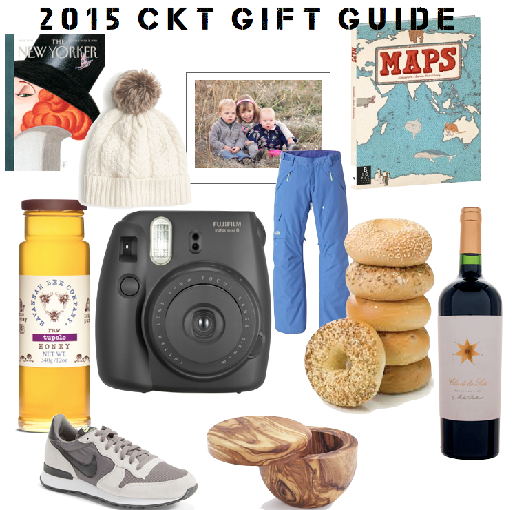 caroline's kitchen table - 2015 gift guide