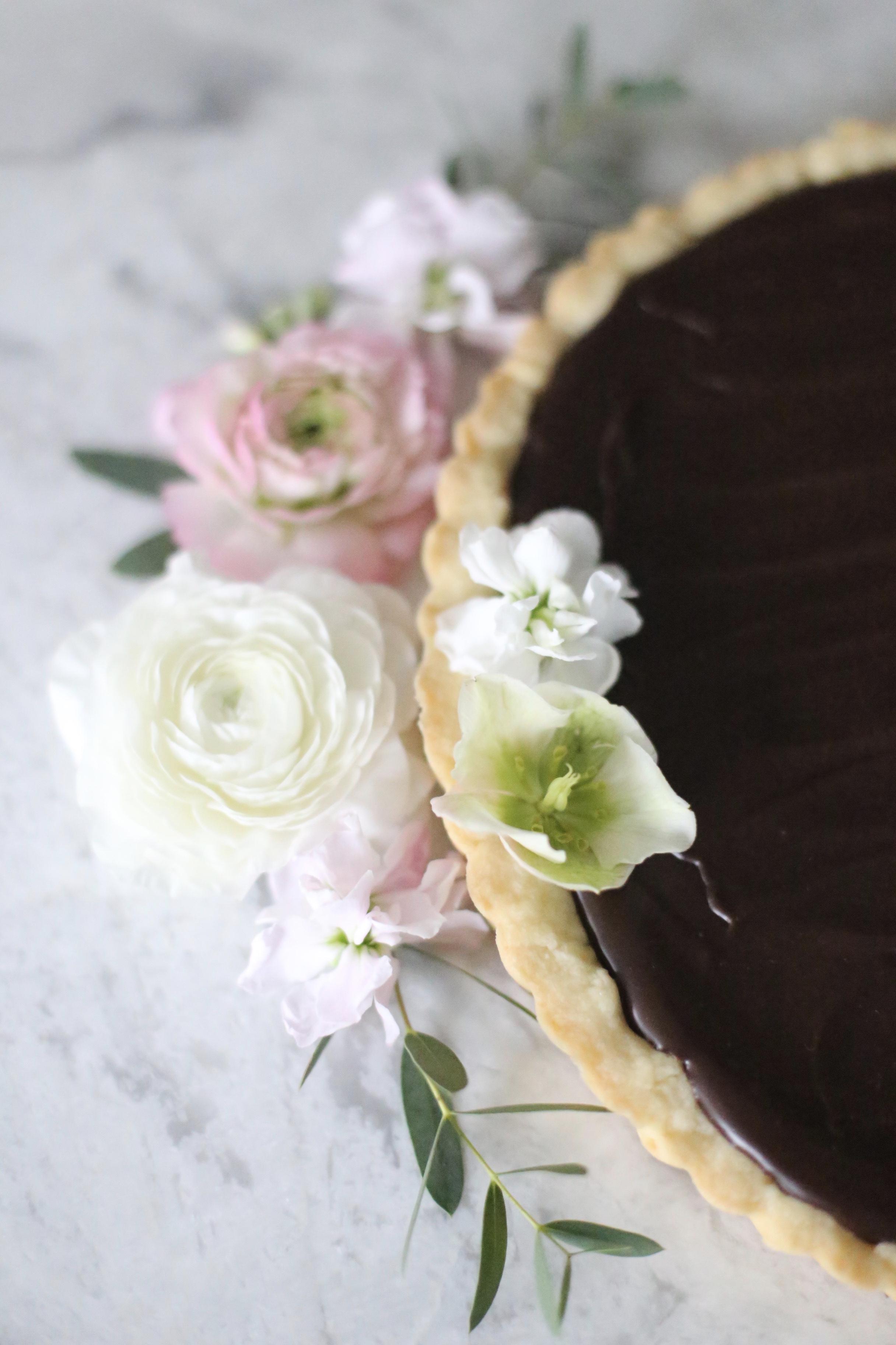 CKT Caramel Chocolate Tart
