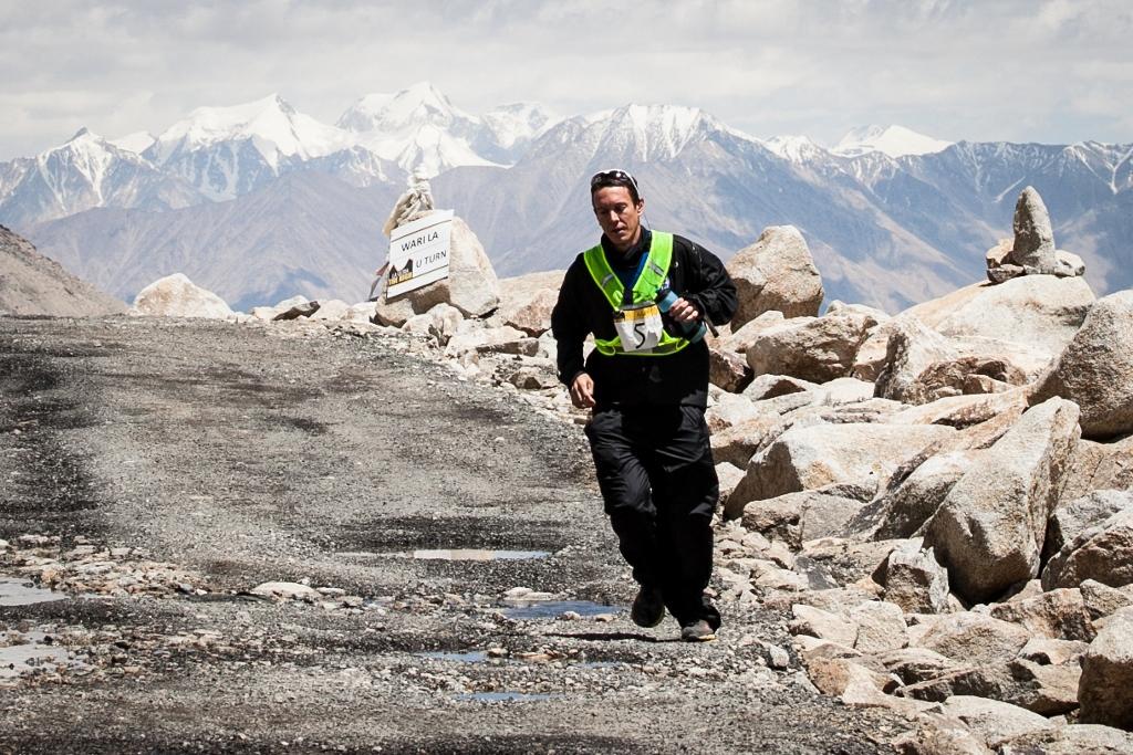 Alex Kaine at Wari La (190 km) during La Ultra - The High.