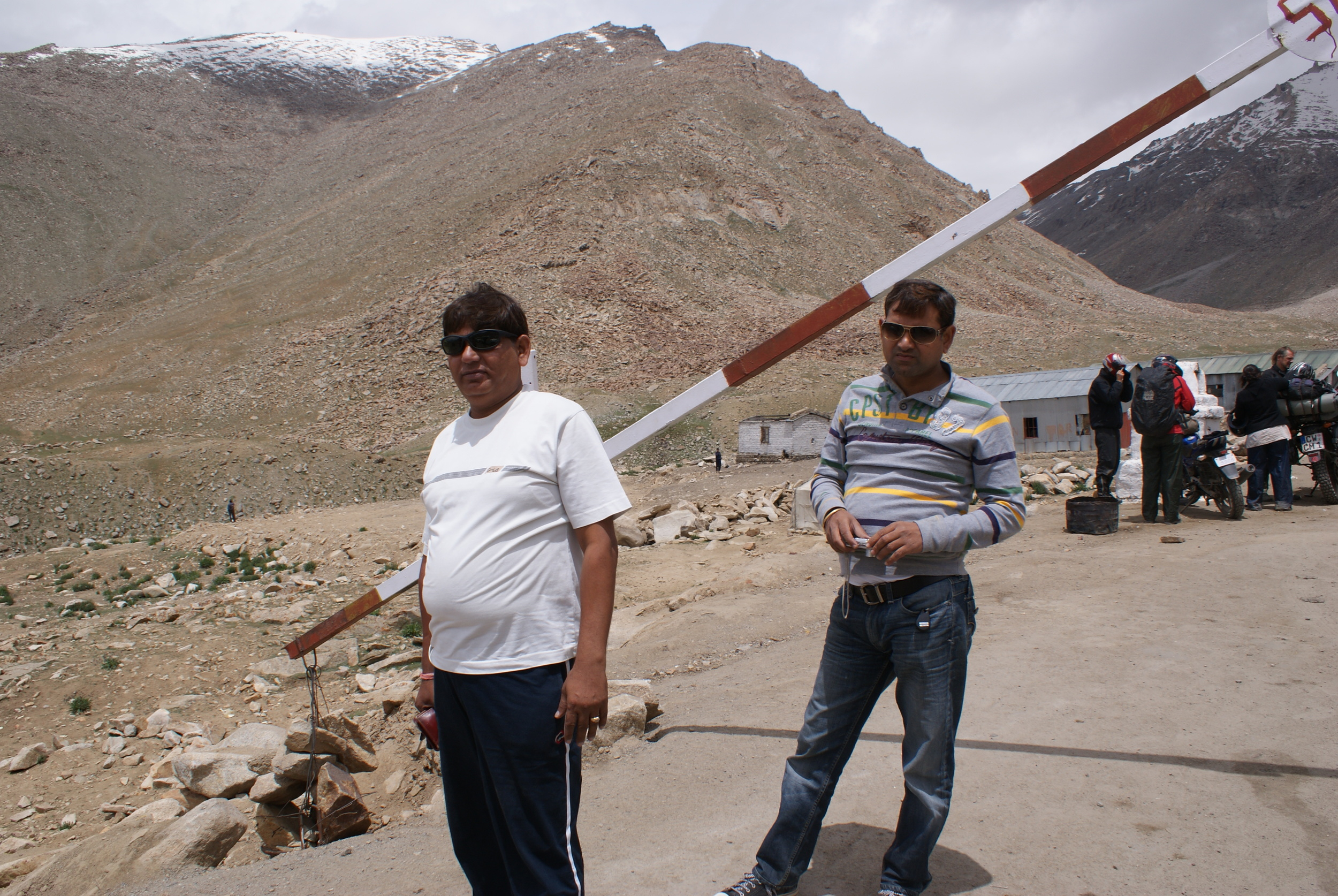 Sushil and Hitender, two of my three cousins, who made this event possible in the first place. As soon as I knew I was putting this together, I sat them down and told them that I need their help. They didn't hesitate one bit, even though you can see how fit they are. They were actually very fit in their hey days.