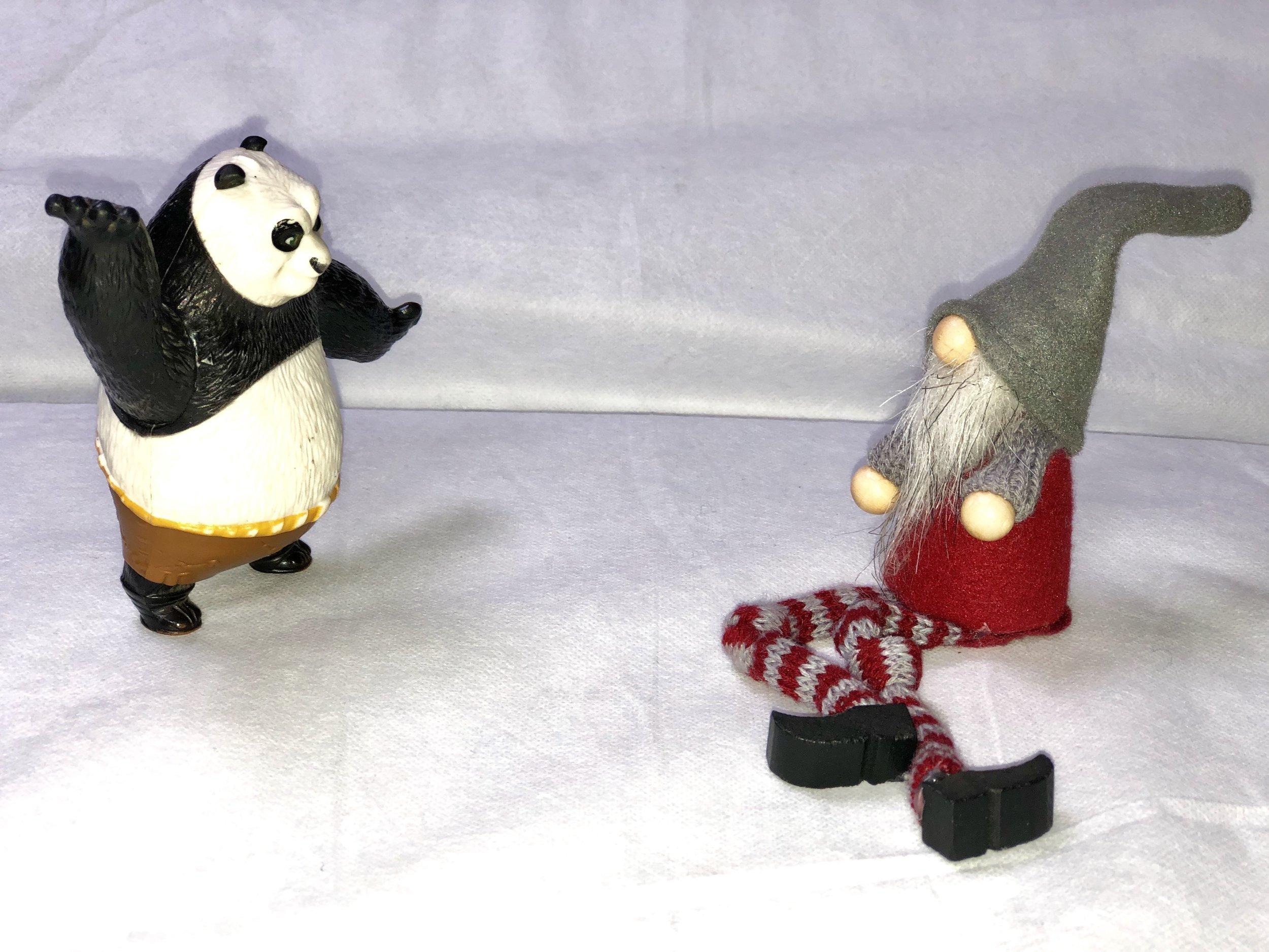 Kung Fu Panda with Boneless Baba