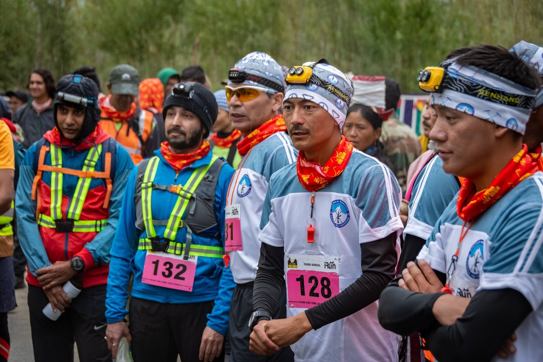 Folks from all walks of lives were at the start line. (111 kms)