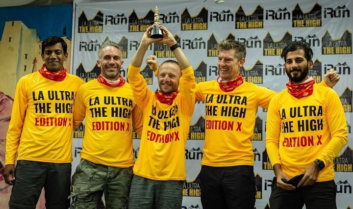 The five who attempted 555 kms this year