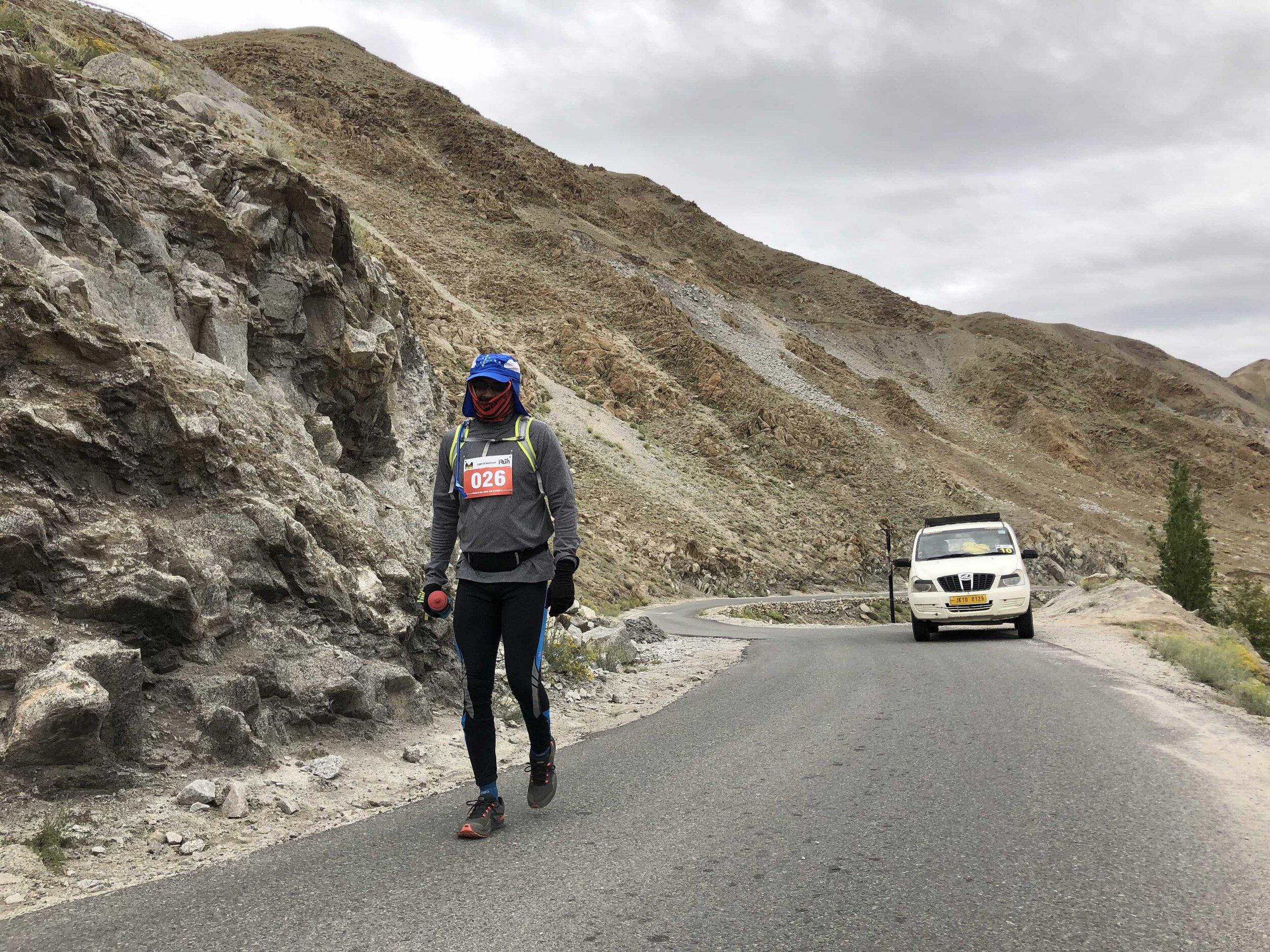 Sameer at 6ish kms