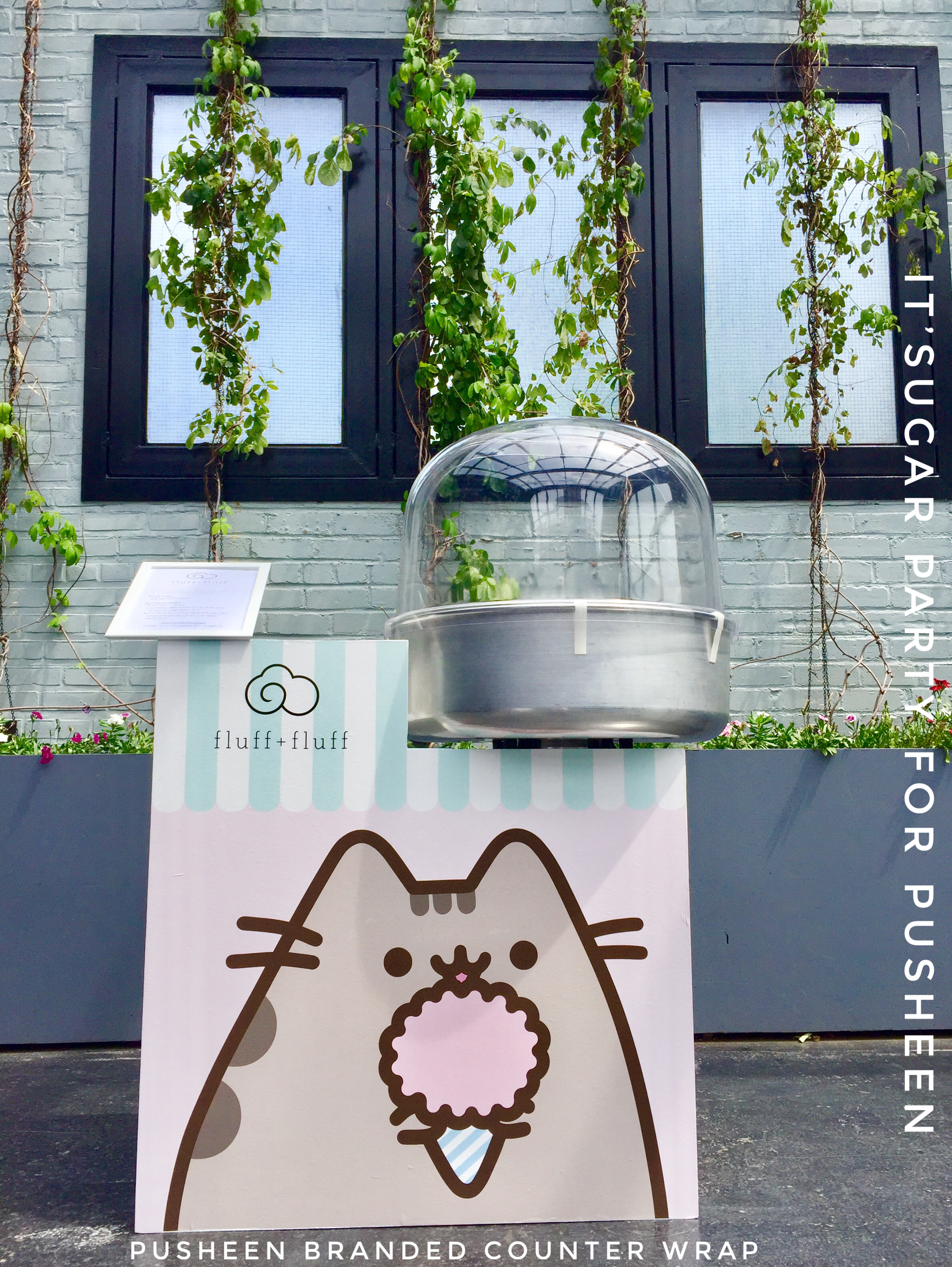 Branded Counter Wrap for Pusheen