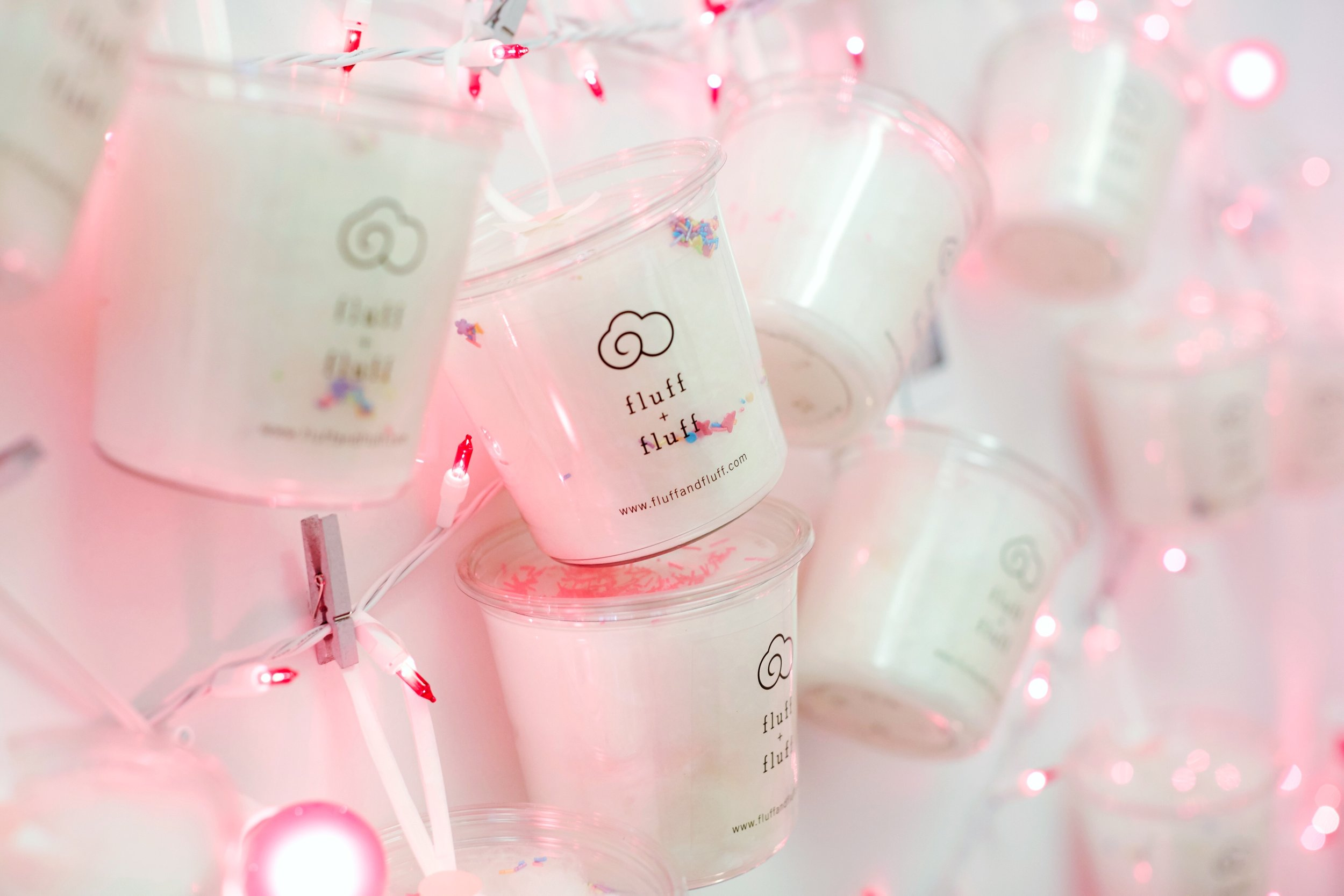 Customized Tubs for a string light holiday, holiday preview