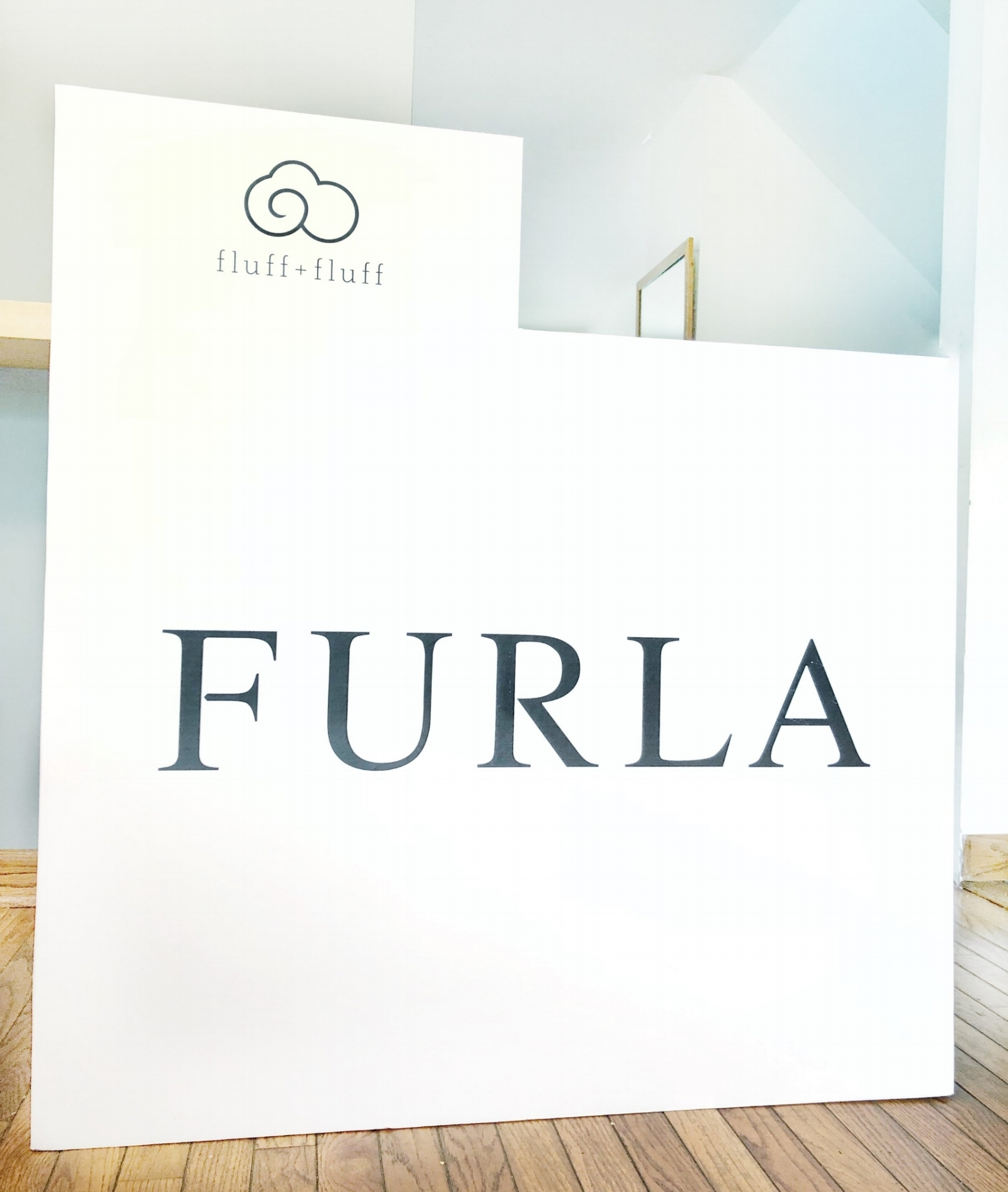 Branded Counter Wrap for Furla