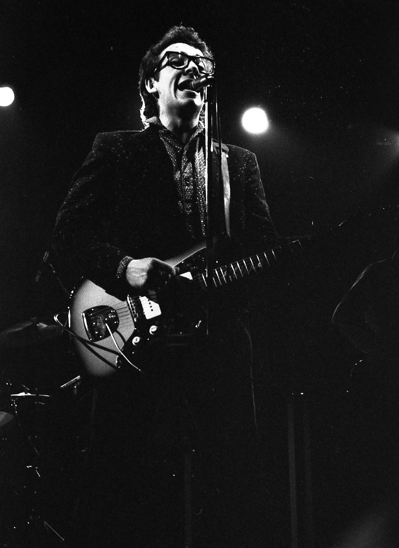 Elvis Costello, San Francisco, 1978
