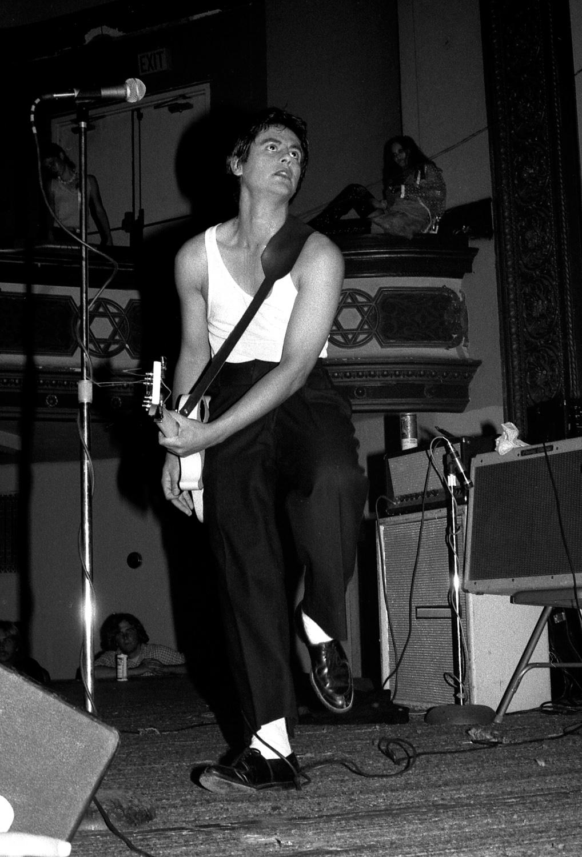 Tito Larriva - The Plugz - San Francisco, CA, 1979