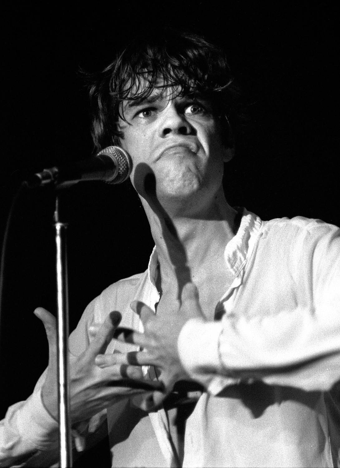 David Johansen, Whiskey A Go-Go, Hollywood, Ca. 1979