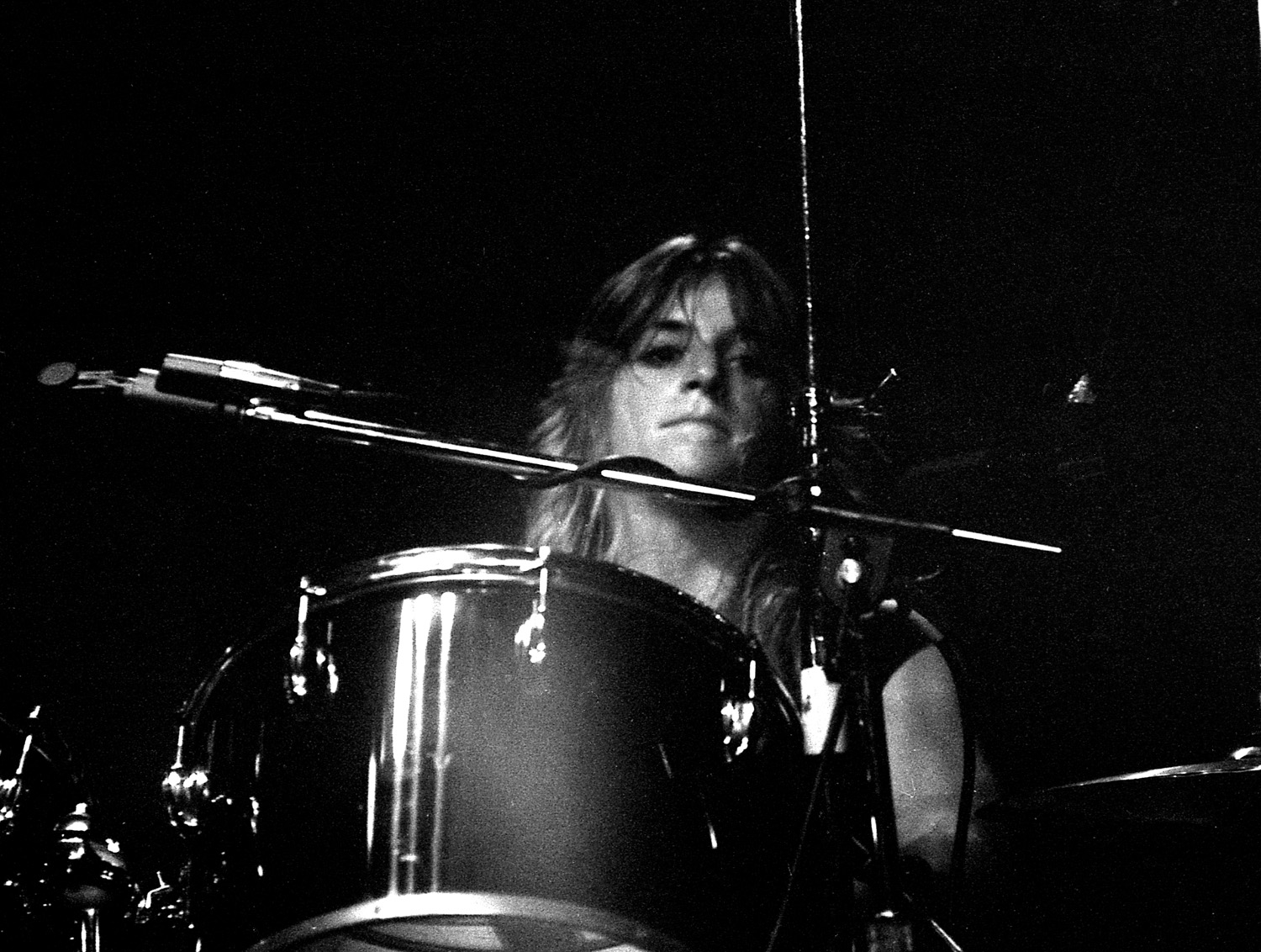 Sandy West, Stardust Ballroom, Hollywood, CA. 1977