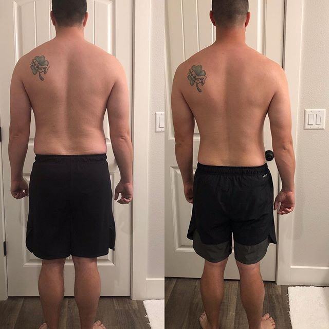 Excited to share my dude Jordan's killer progress over the last 6 months of working together.  He has lost over 21 pounds in the course of 24 weeks and continues to make strength gains while losing body fat.  One of my favorite things about his progress is that we have only had to adjust his macros once and he has been steadily making progress by just staying consistent.  The small changes he's been implementing have slowly and steadily been accruing interest so to speak and it's showing more than ever and his physique.  We are after sustainable long term permanent results and even though it takes time there's a lot of sweet victories along the way!  Coaching: iEvolveFitness.com (Link in my bio) #ievolvefitness #aestheticallyathletic #eatgoodfeelgoodlookgood