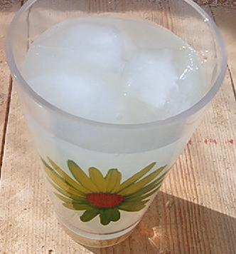 A cool lemonade is guaranteed to reduce your deer-related concerns. Photo:https://commons.wikimedia.org/wiki/File:LemonadeJuly2006.JPG