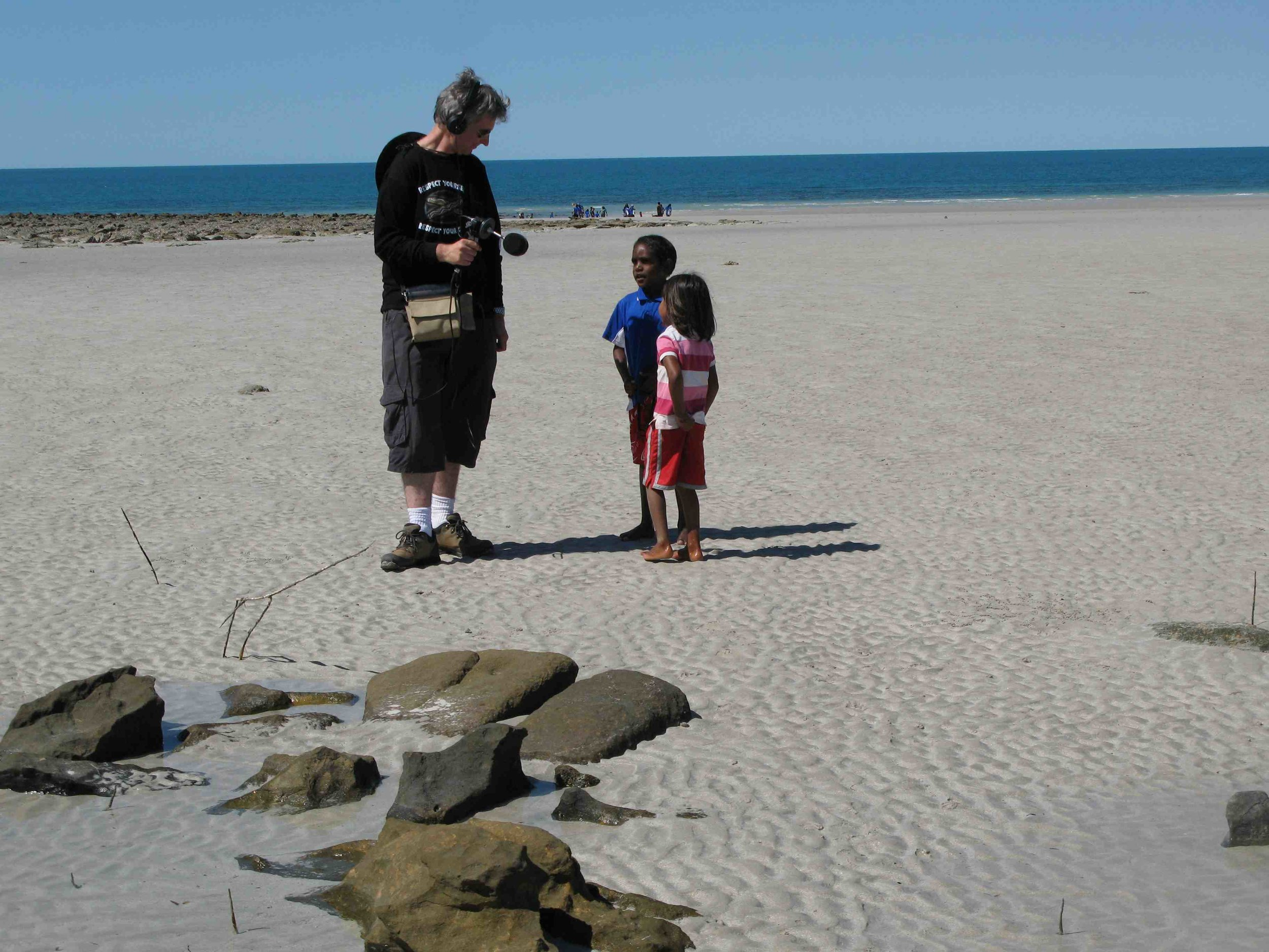 Sound recording 101 (crabing at middle beach One Arm Point).jpg