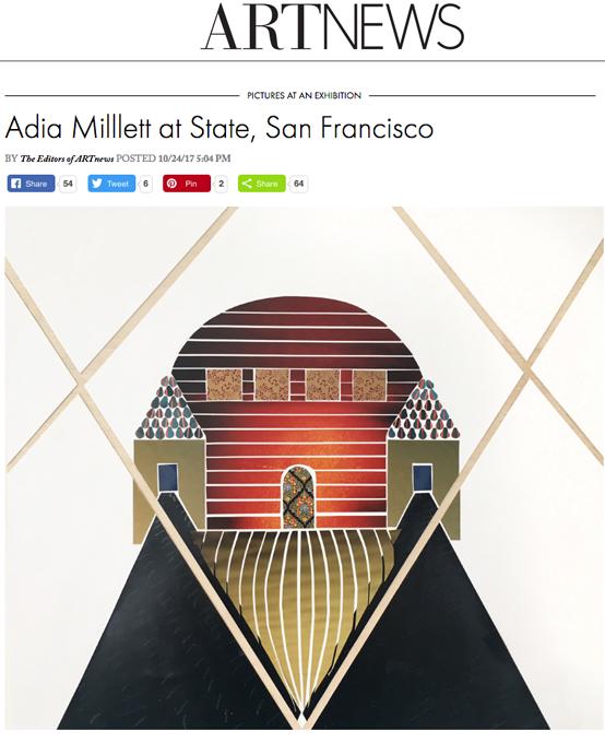 ARTNEWS: Adia Millett