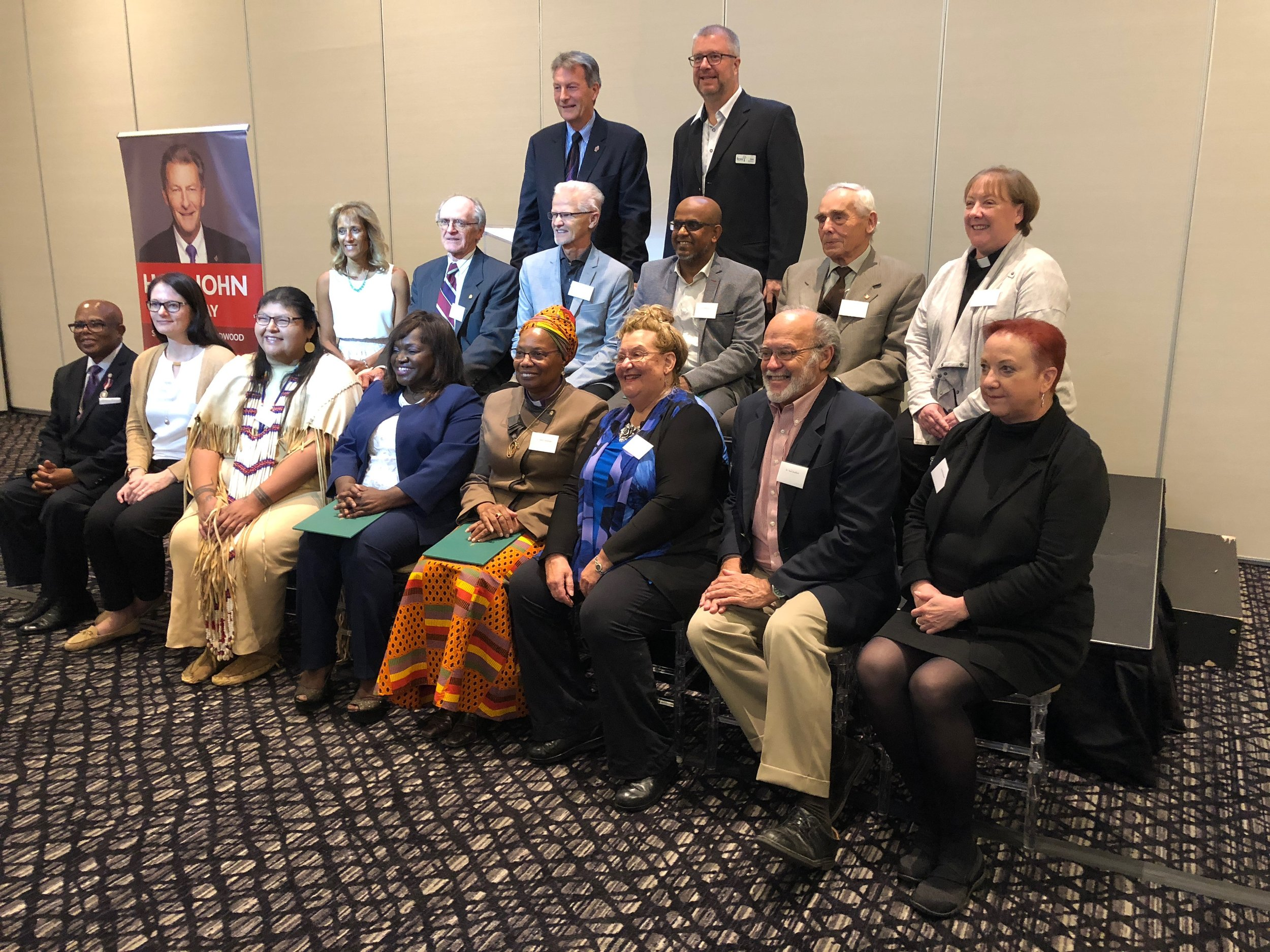 Janet shares the stage with other amazing Scarborough - Guildwood Volunteers on October 12th.