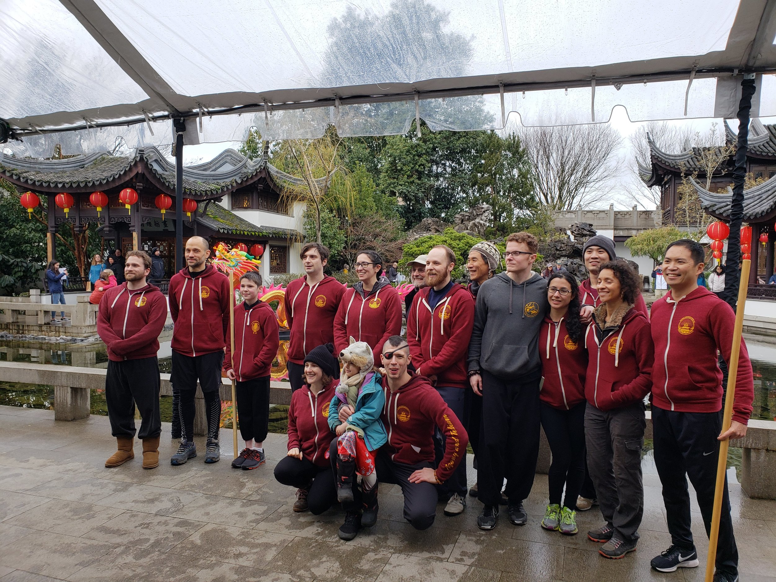 Our 3rd annual KungFu performance at the Lan Su Chinese Gardens