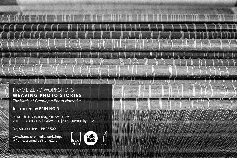 Erin Nøir - Weaving Photo Stories - poster.jpg