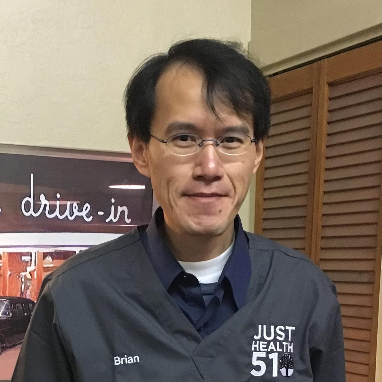 Brian Liu Front Desk Coordinator