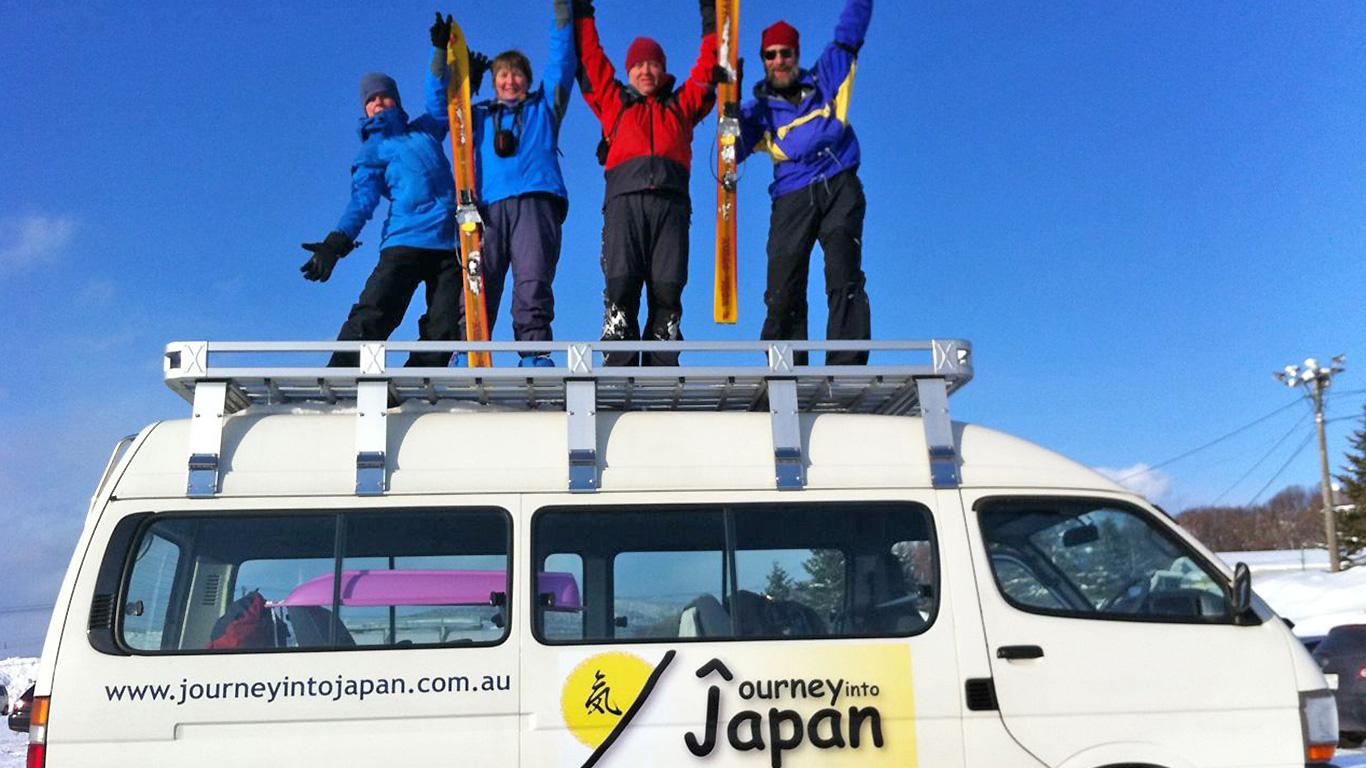 Guided Hokkaido ski tour