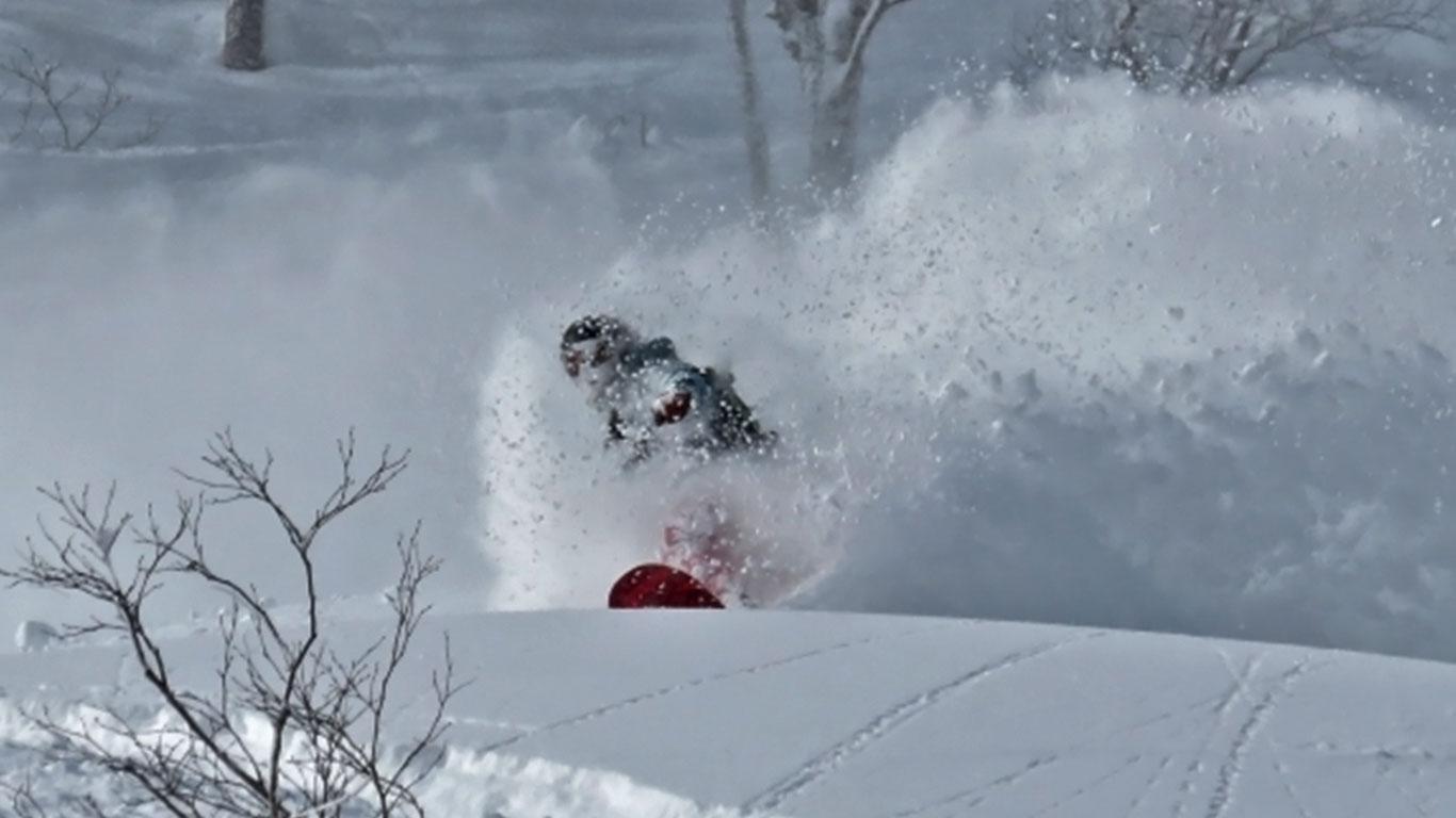 Furano Powder skiino