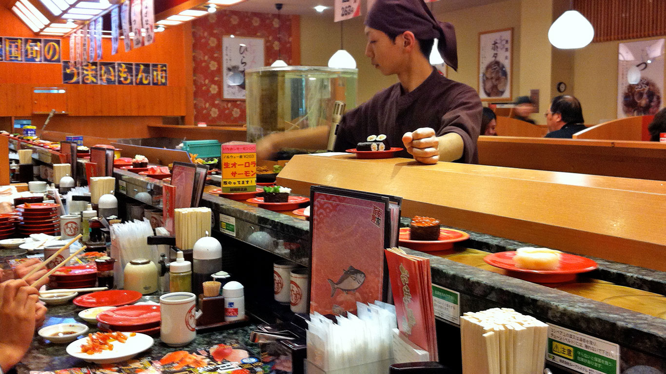 Japanese food and restaurant