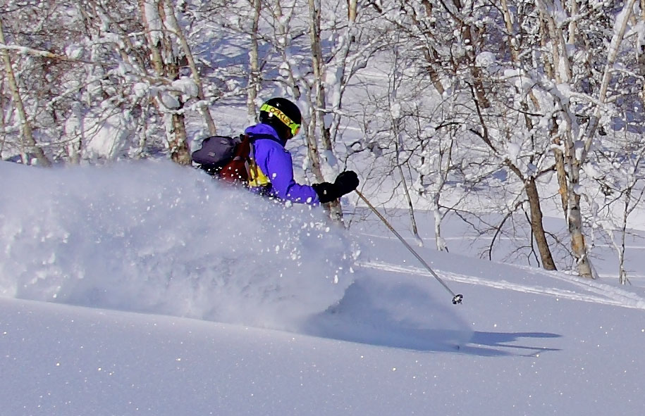 Ski Kamui backcountry powder