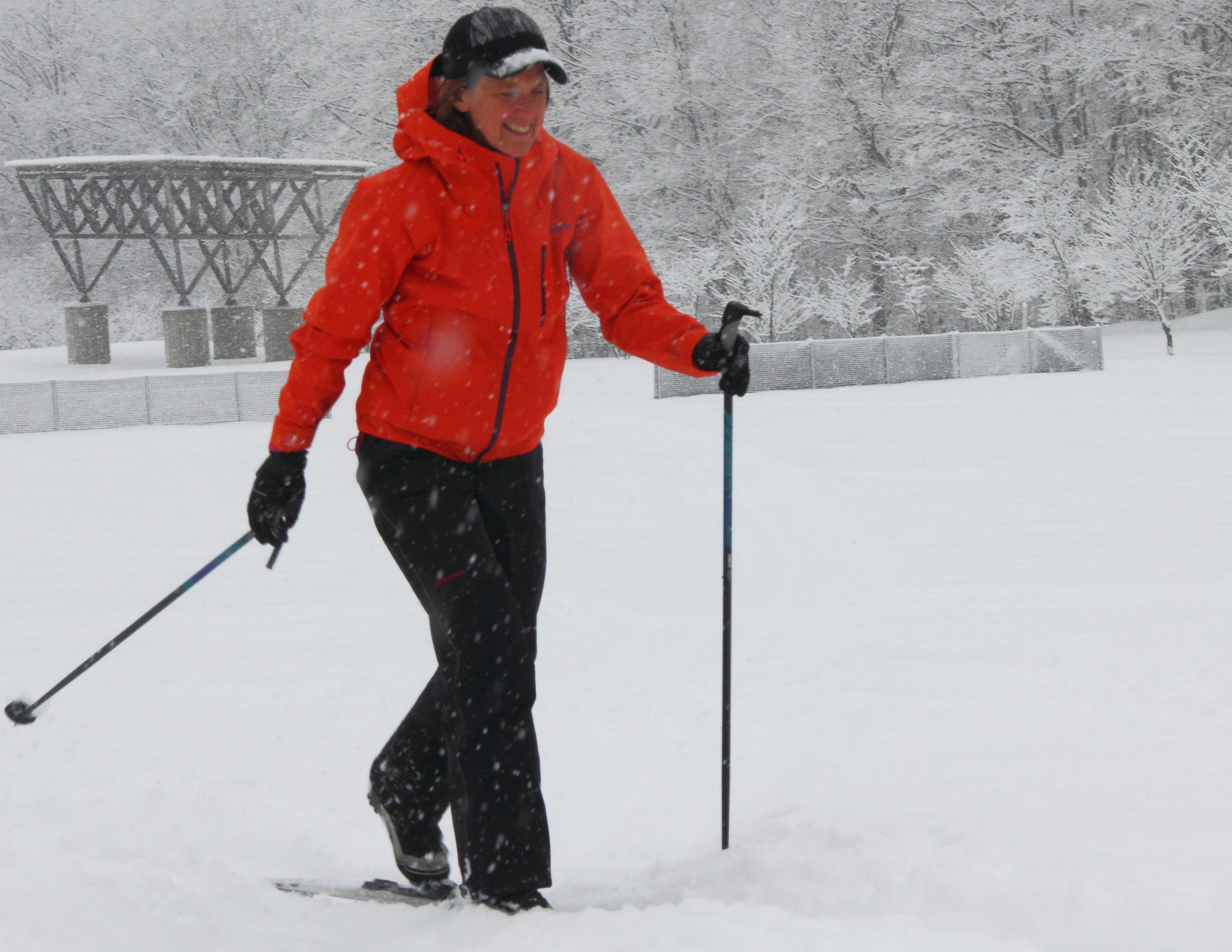 Nordic skiing Furano.