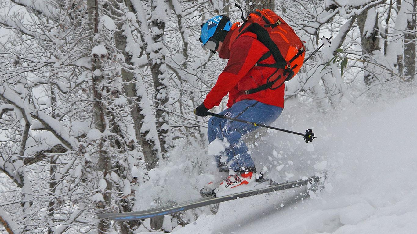 Kamui backcountry skiing