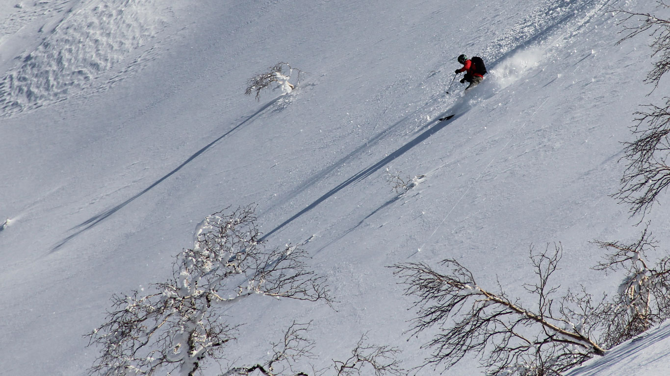 Tokachi Backcountry skiing