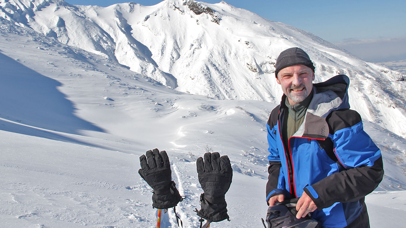 Backcountry ski Tokachi