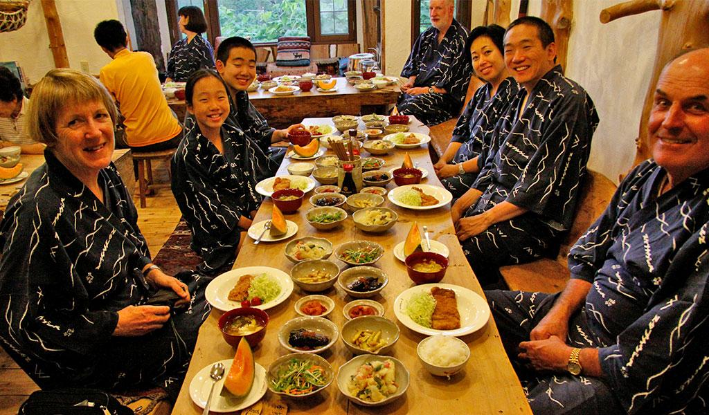 Dinner at Nutappu Lodge