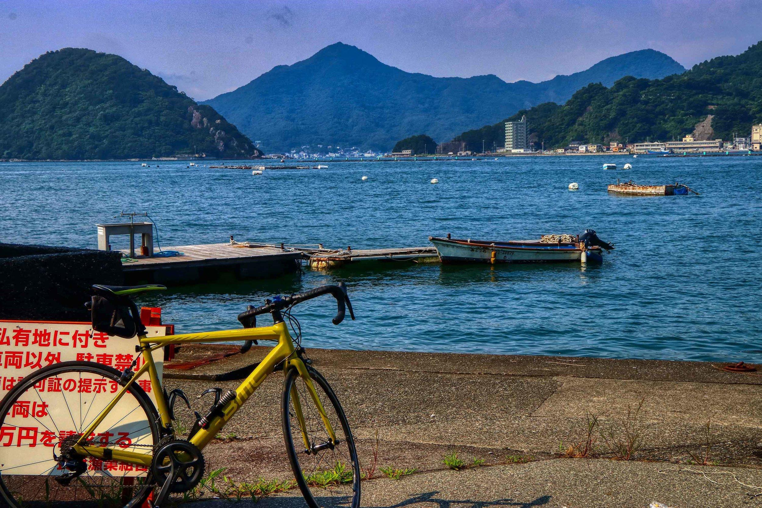 Cycling the Izu Peninsula