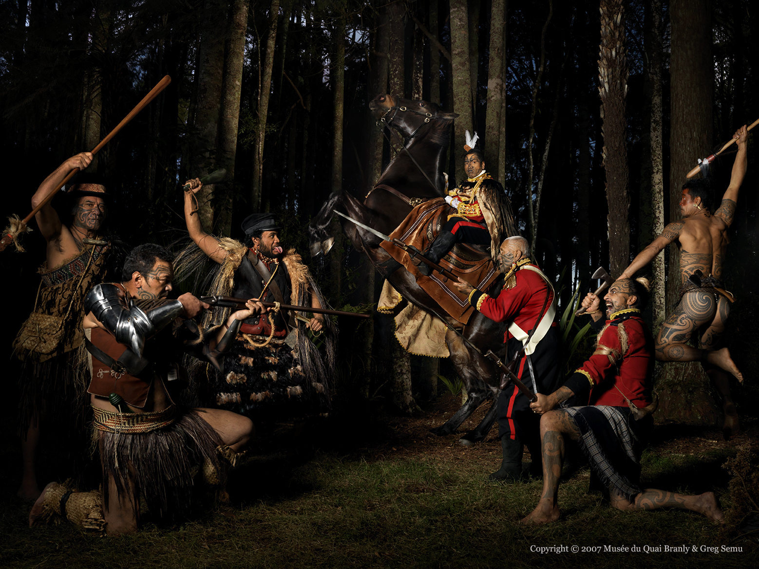 Battle of the Noble Savage  2007