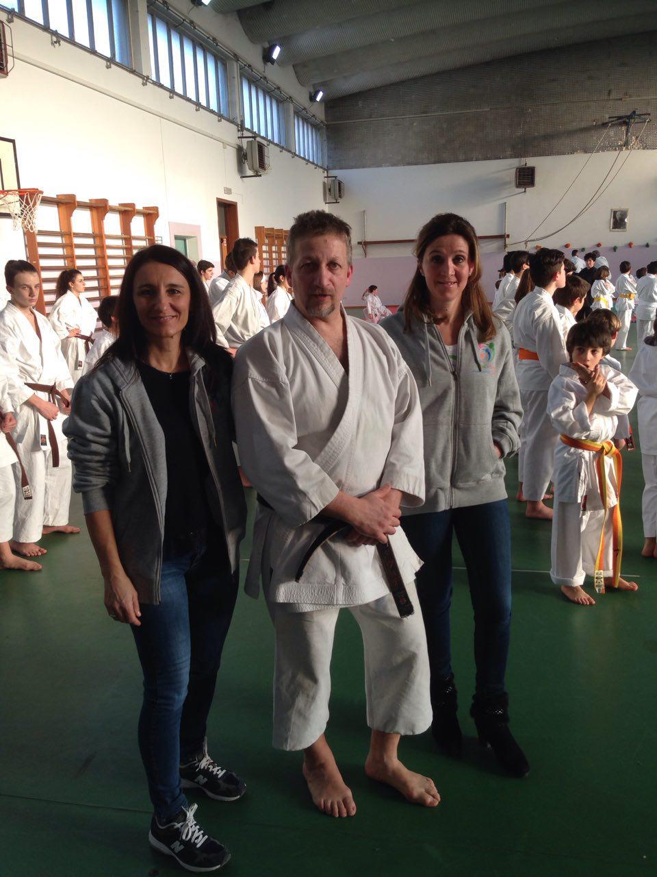 29.1.17 - saggio di karate pro FabiOnlus