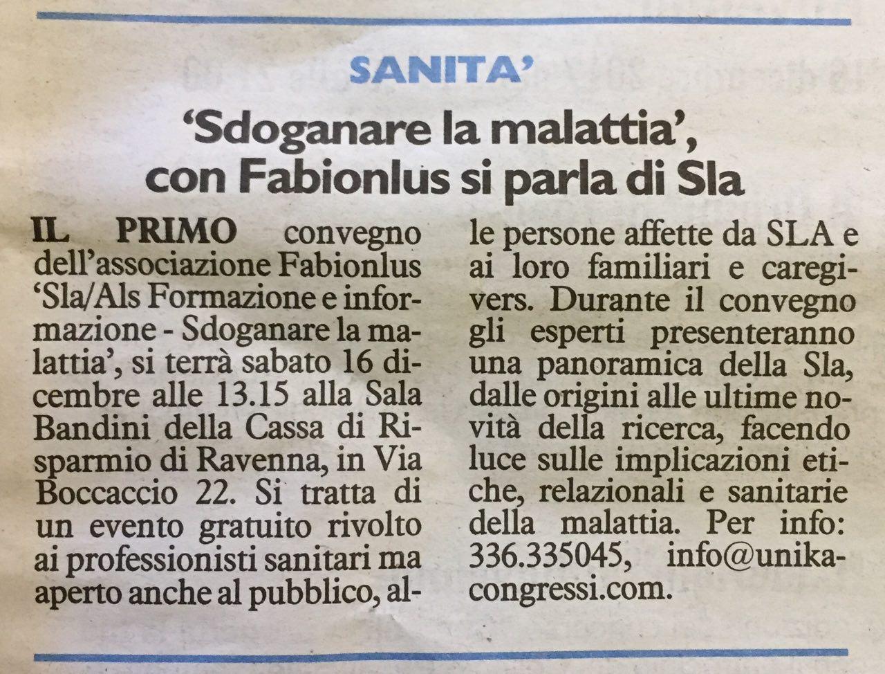 - Il Resto del Carlino - 17.12.2017