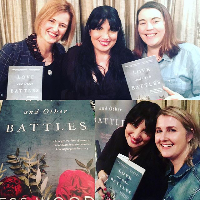 Last night I was at an event to celebrate the launch of Love and Other Battles by the fabulous Tess Woods. I can't wait to read it! Tess is an amazing woman, a wonderful writer - and she looks great in photos! Congratulations, Tess - on all fronts! Xx @tesswoods_author @rachaeljohnsauthor @dymockskarrinyup #authorsofinstagram #authorlife #authorfriends #booklaunch #australianfiction #aussieauthor #womenwriters #loveandotherbattles #dymockskarrinyup