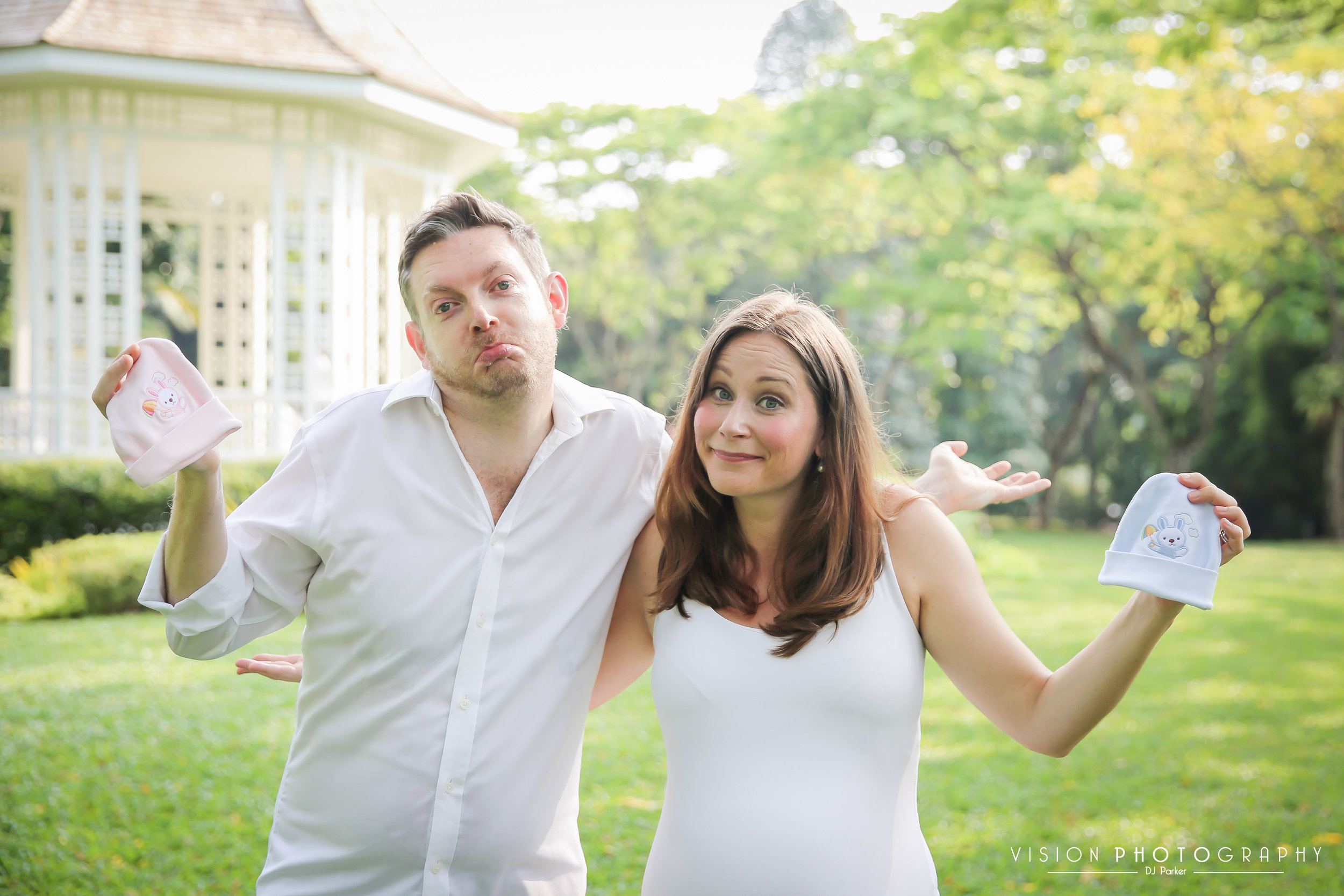 Outdoor maternity Botanic Gardens