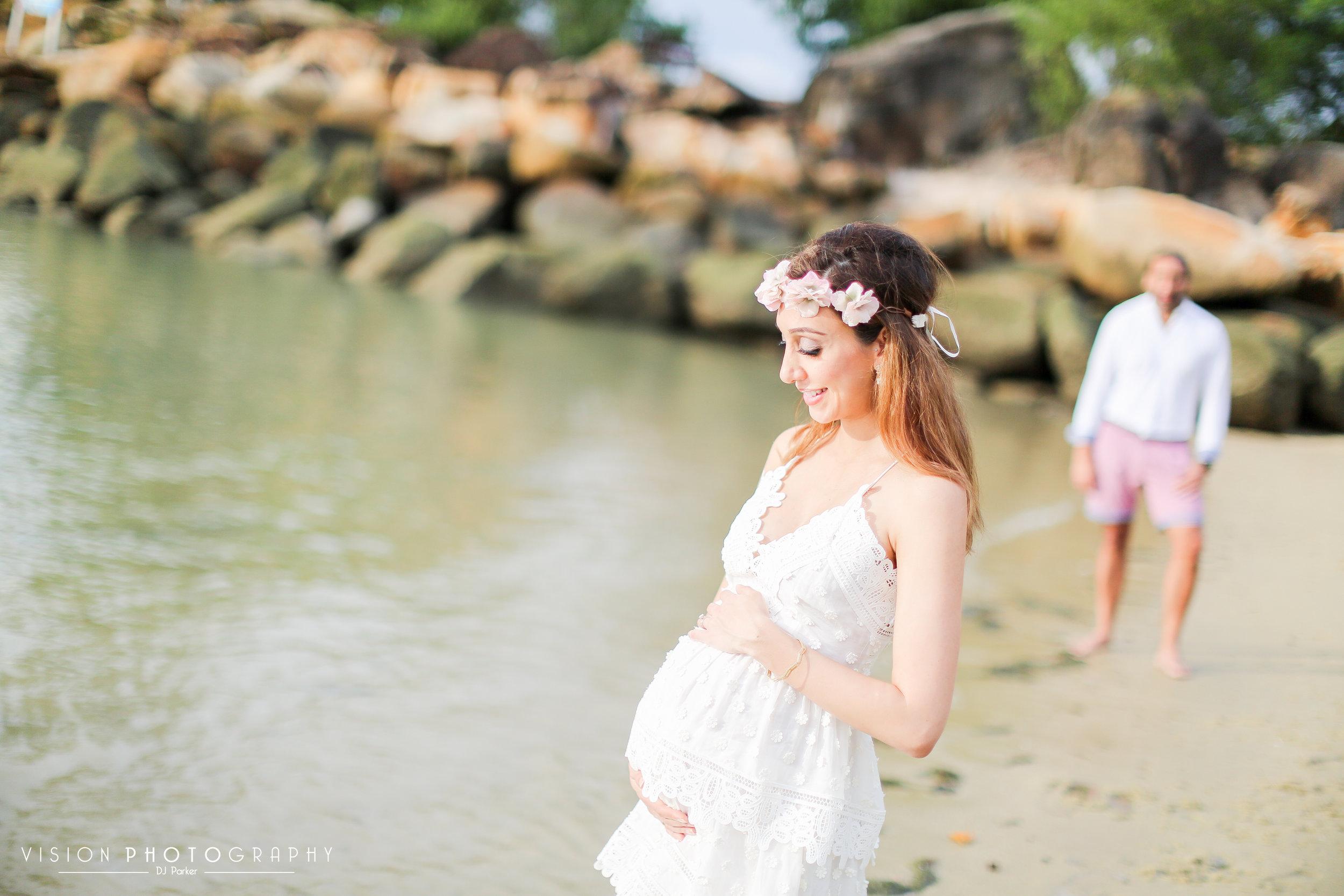 Outdoor maternity sentosa